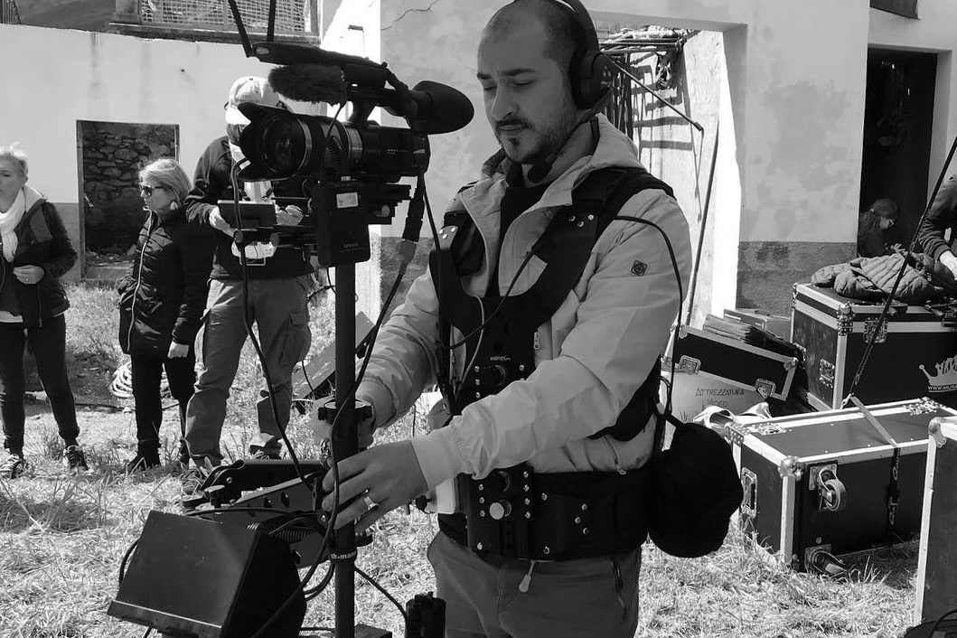 Operatore video videomaker